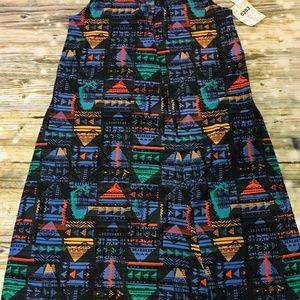 Lularoe Joy Women's Small Bright Multicolor Vest